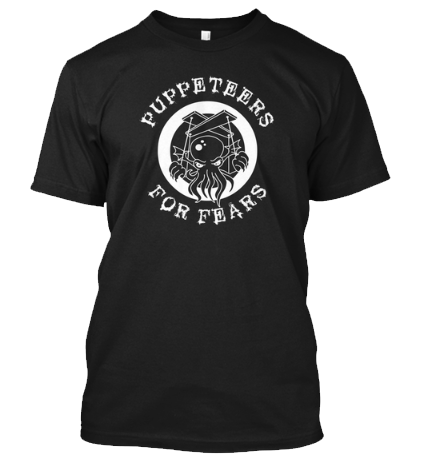 Puppeteers For Fears Graphic T-shirt
